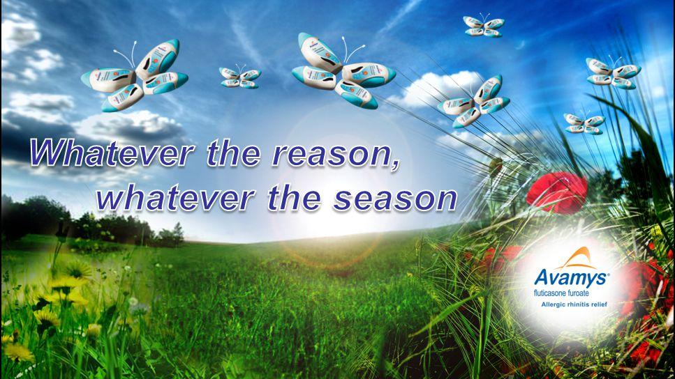 Whatever the reason, whatever the season