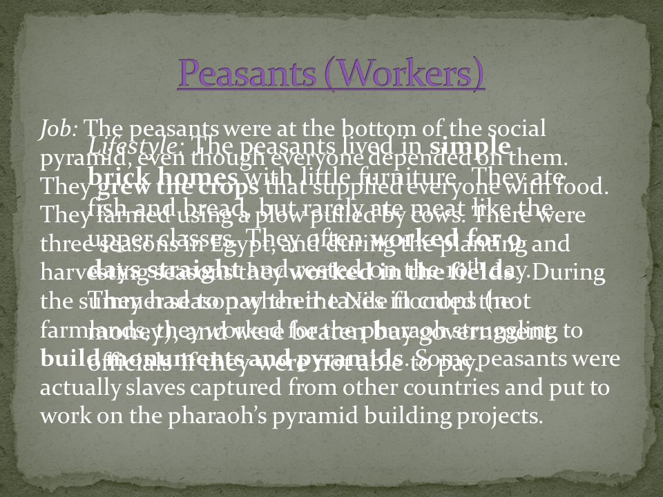 Peasants (Workers)