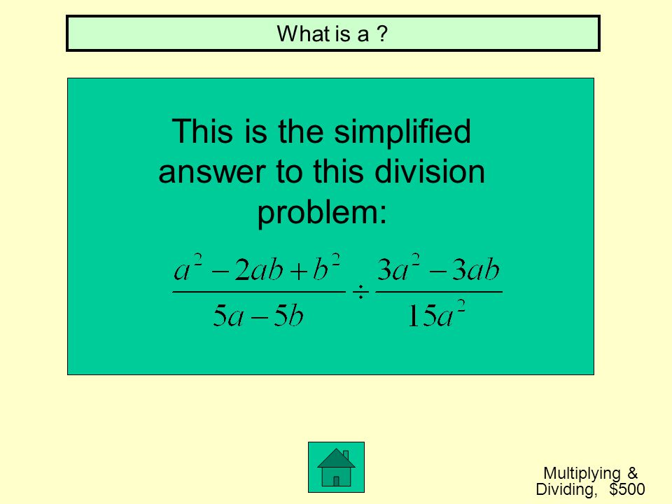 This is the simplified answer to this division problem: