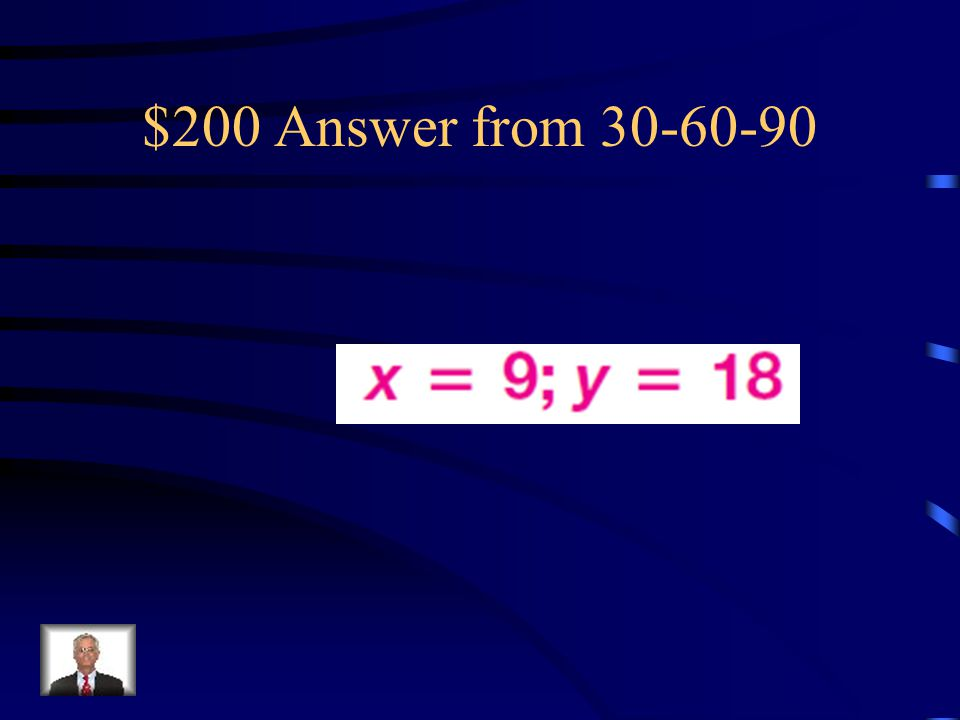 $200 Answer from 30-60-90