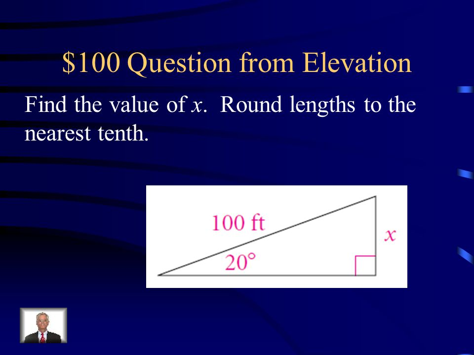 $100 Question from Elevation