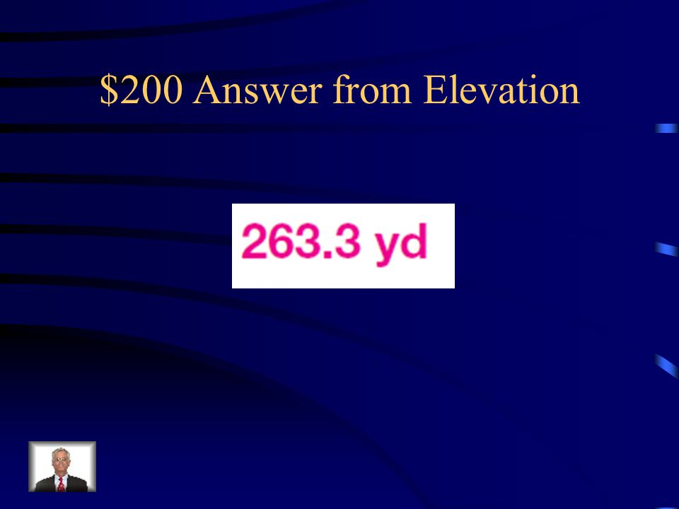 $200 Answer from Elevation