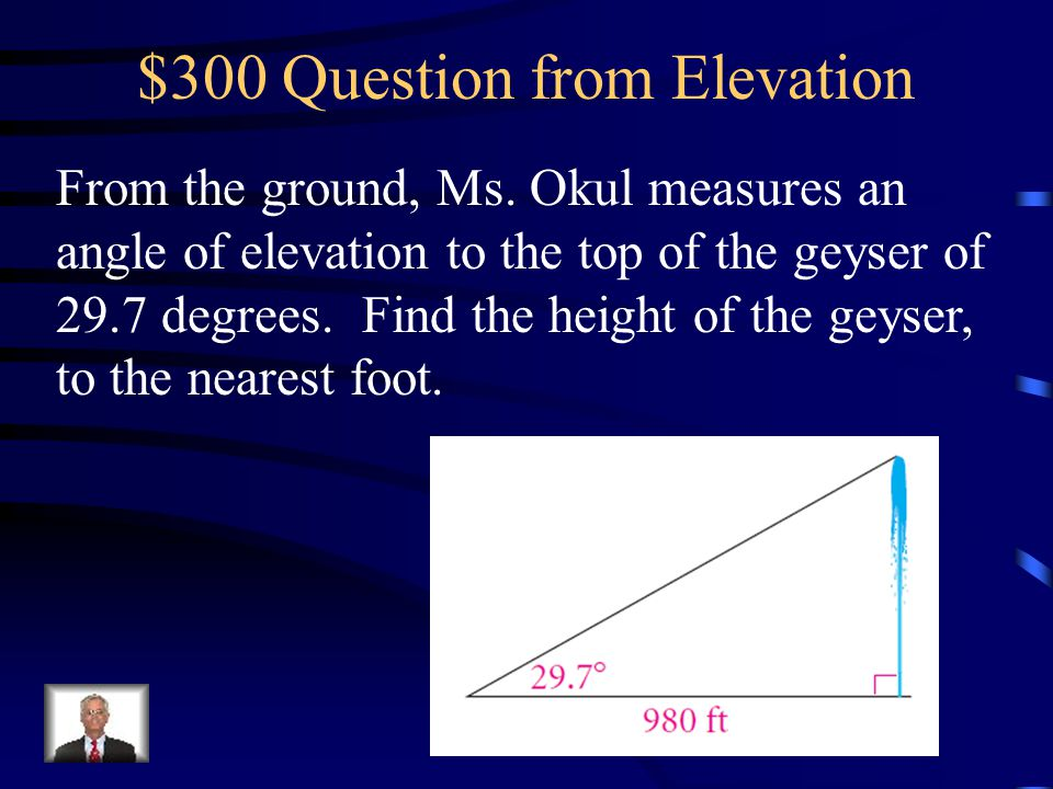 $300 Question from Elevation