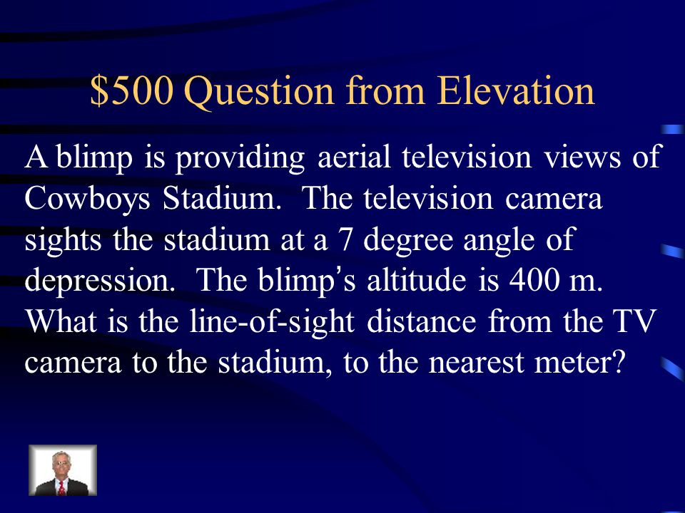 $500 Question from Elevation