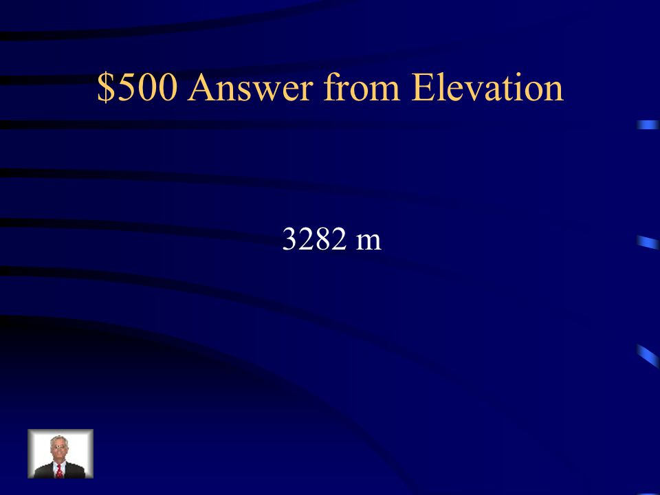 $500 Answer from Elevation