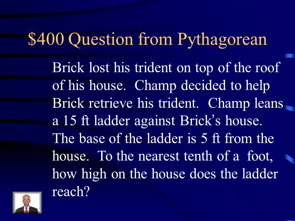 $400 Question from Pythagorean