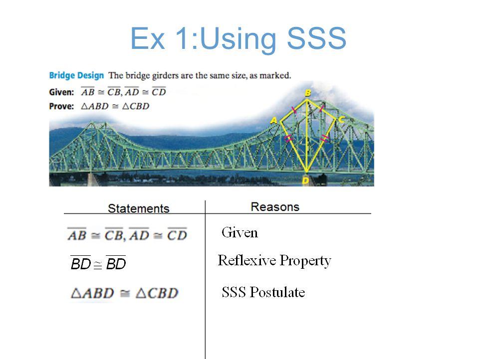 Ex 1:Using SSS