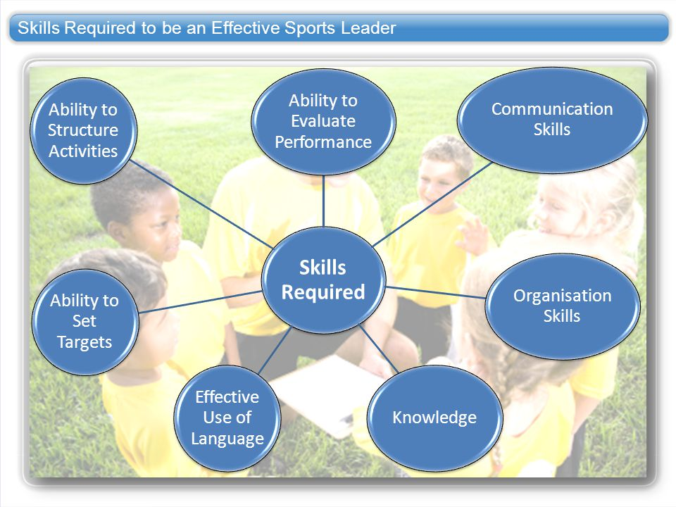 Skills Required to be an Effective Sports Leader