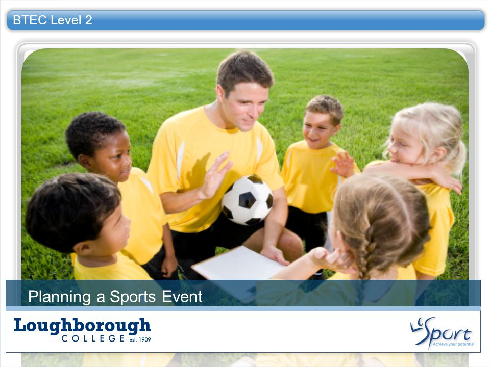 Planning a Sports Event