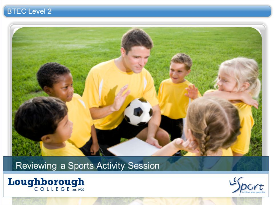 Reviewing a Sports Activity Session