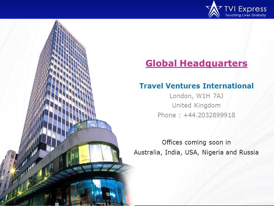 Travel Ventures International