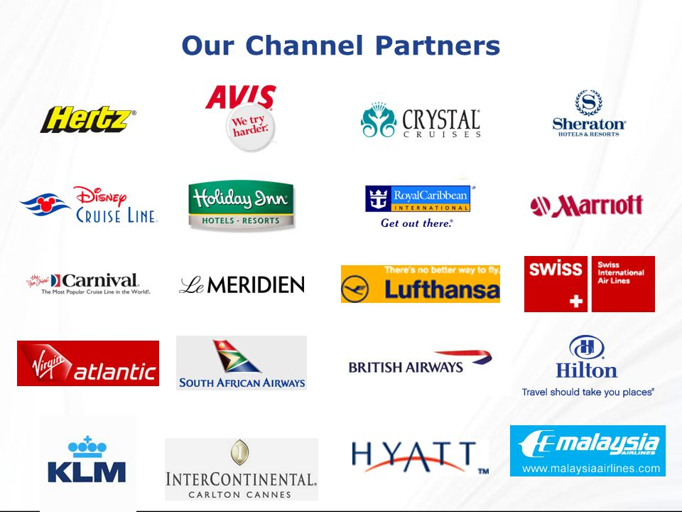 Our Channel Partners
