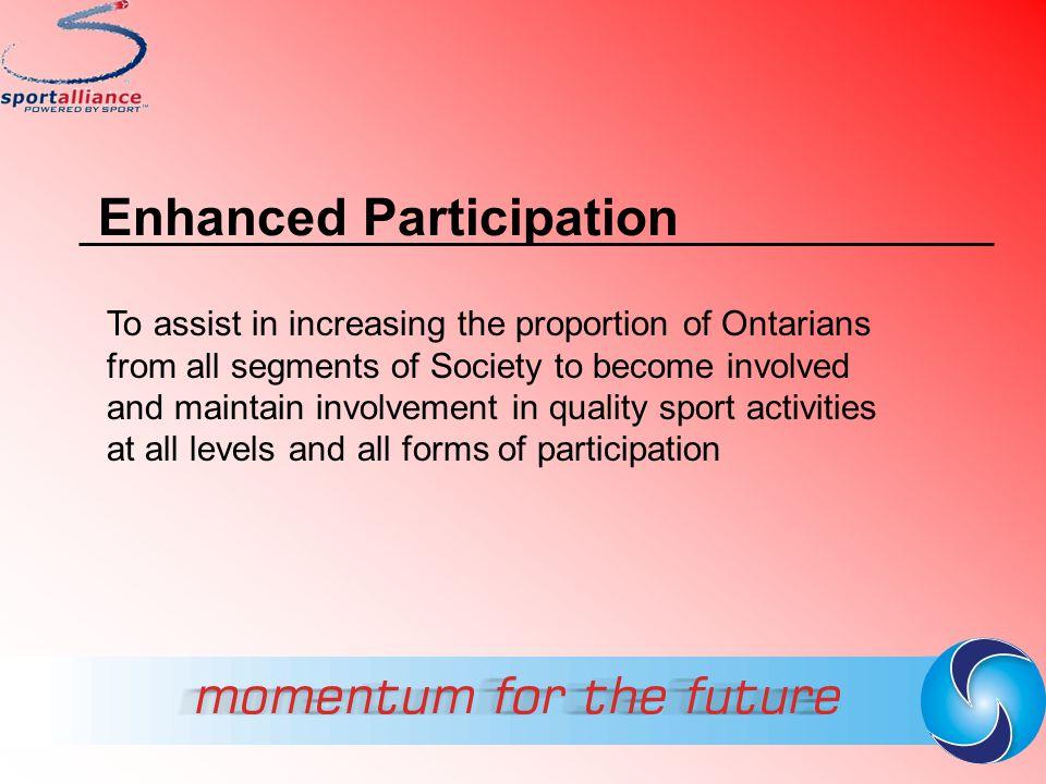 Enhanced Participation