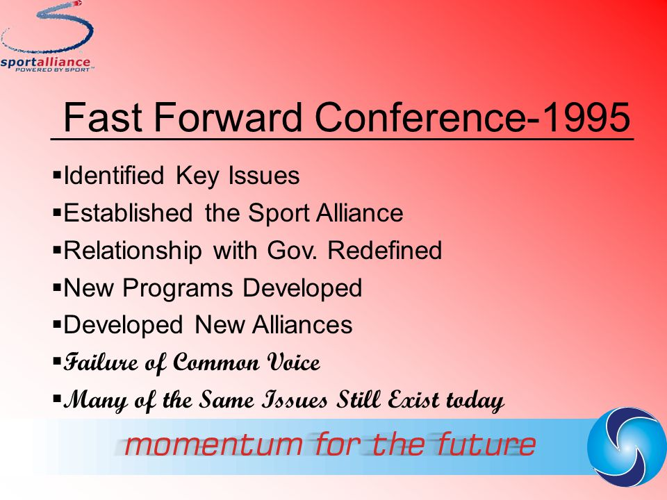 Fast Forward Conference-1995