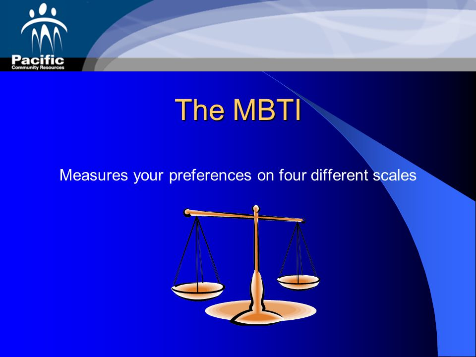 Measures your preferences on four different scales