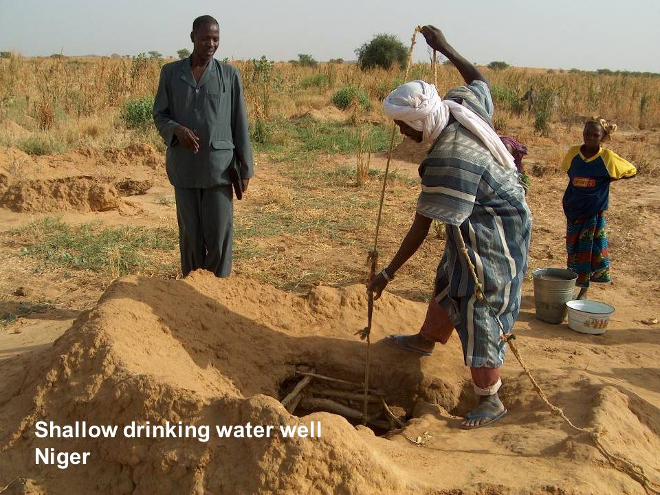 Shallow Well, Niger Shallow drinking water well Niger