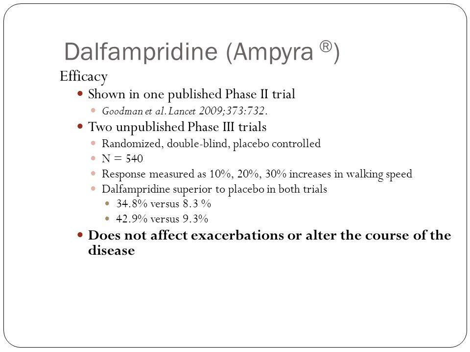 Dalfampridine (Ampyra ®)