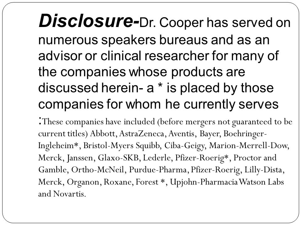Disclosure-Dr.