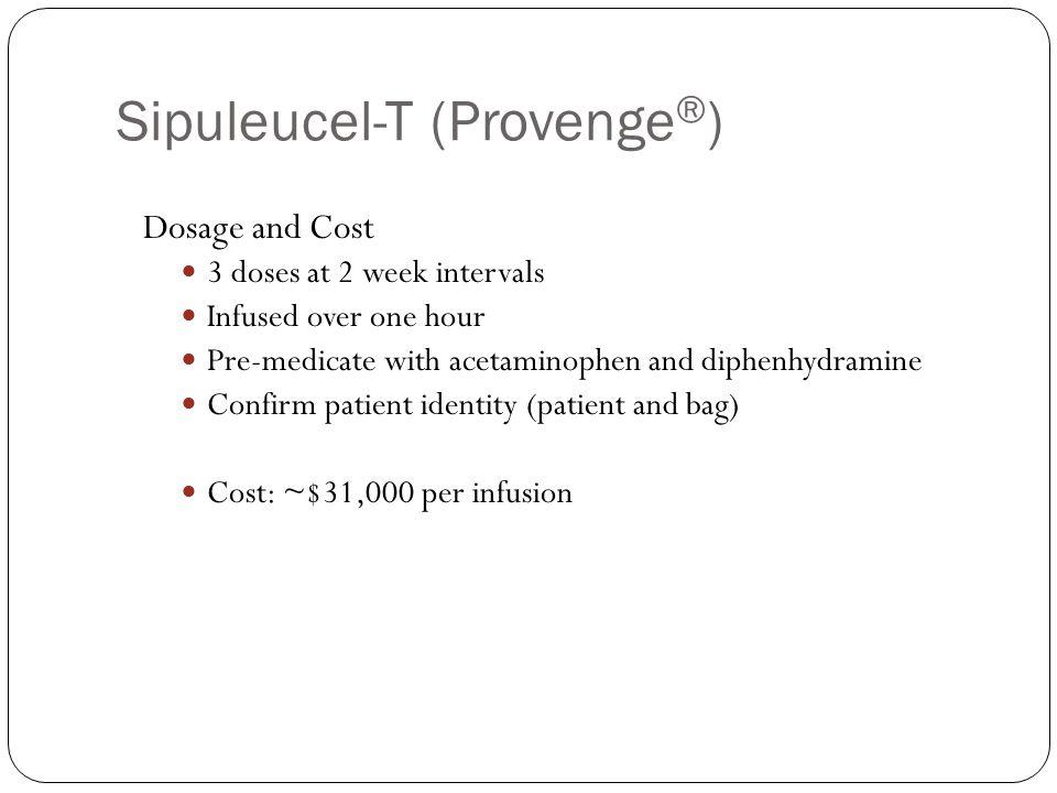 Sipuleucel-T (Provenge®)