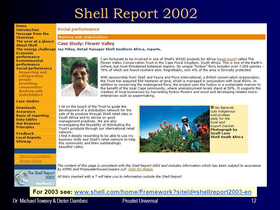 Shell Report 2002