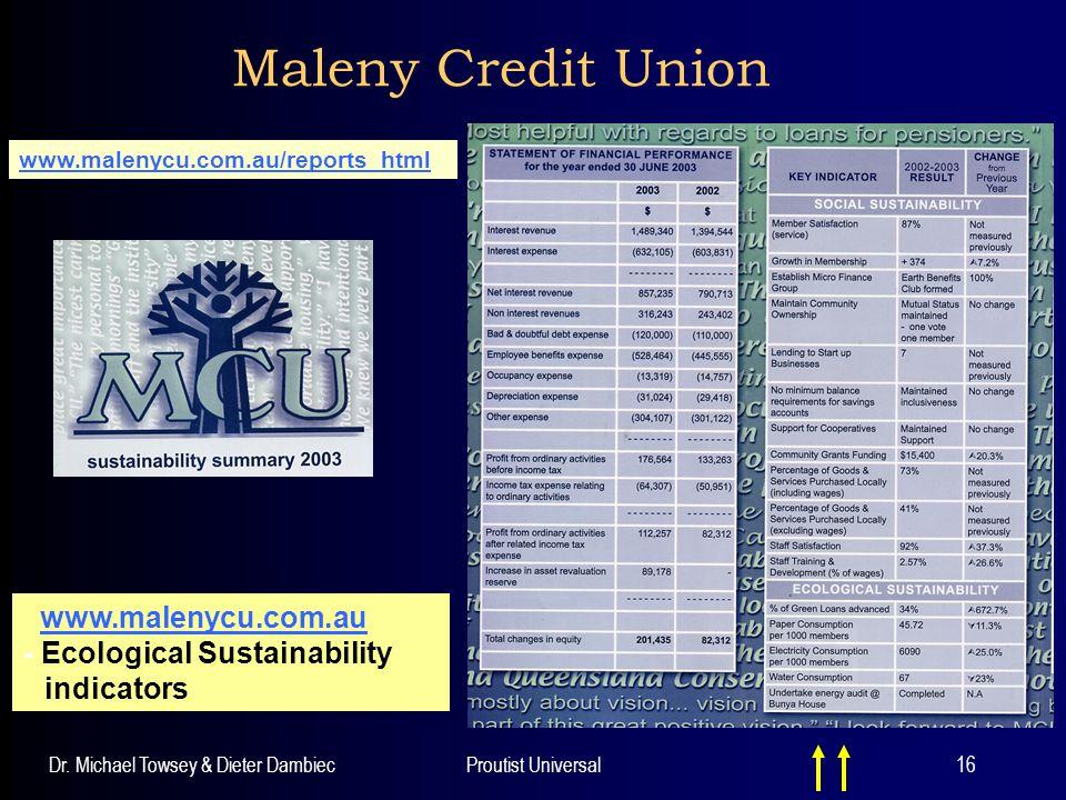 Maleny Credit Union www.malenycu.com.au