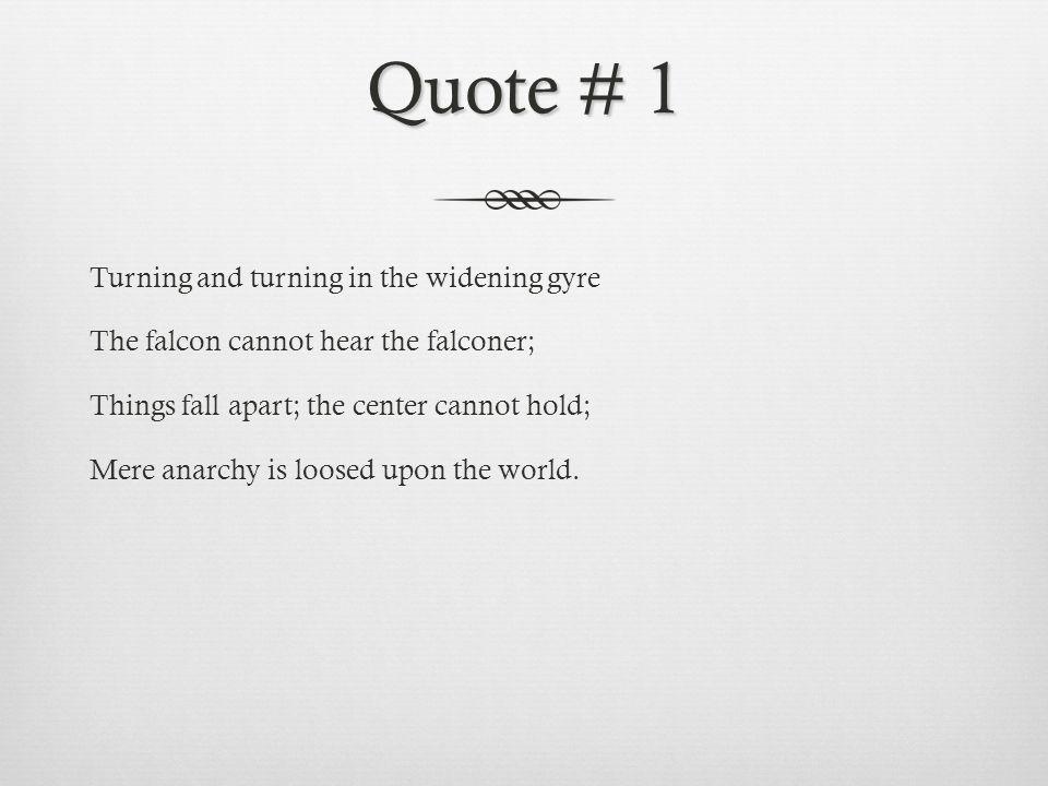 Quote # 1