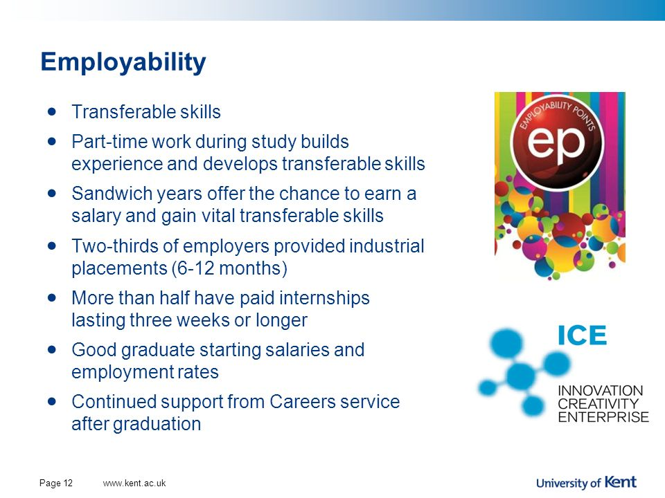 Employability Transferable skills