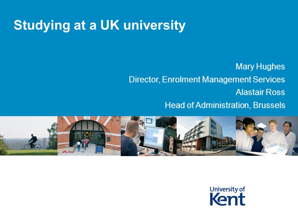 Studying at a UK university