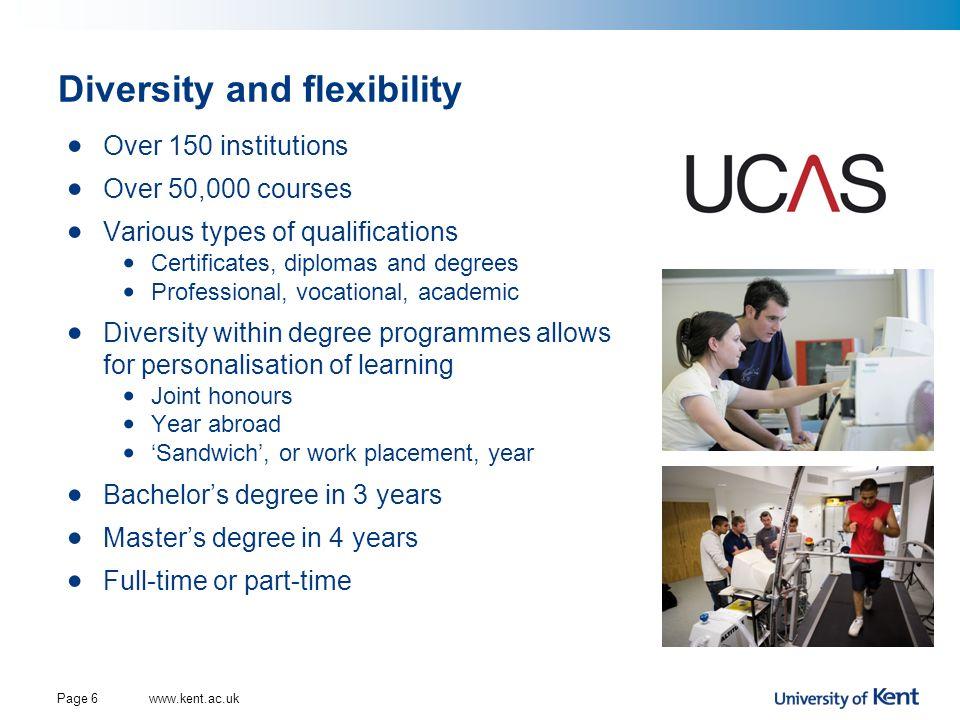 Diversity and flexibility