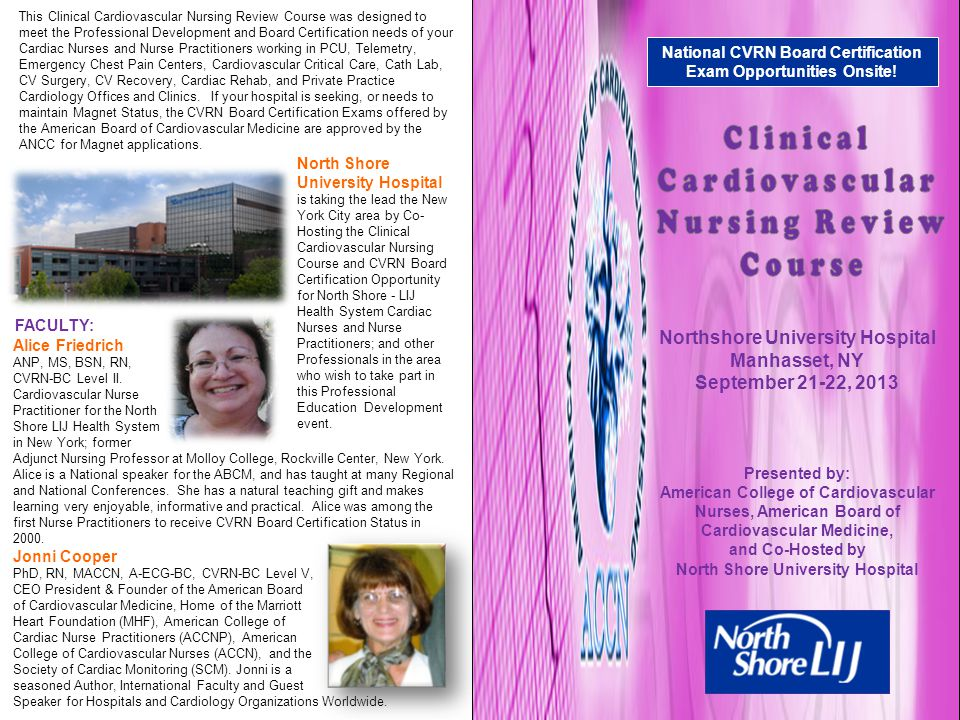 Clinical Cardiovascular Nursing Review Course Ppt Video Online