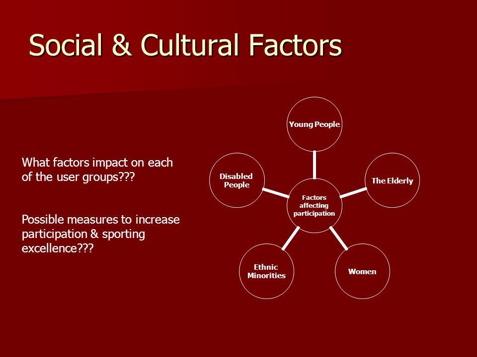 Social & Cultural Factors