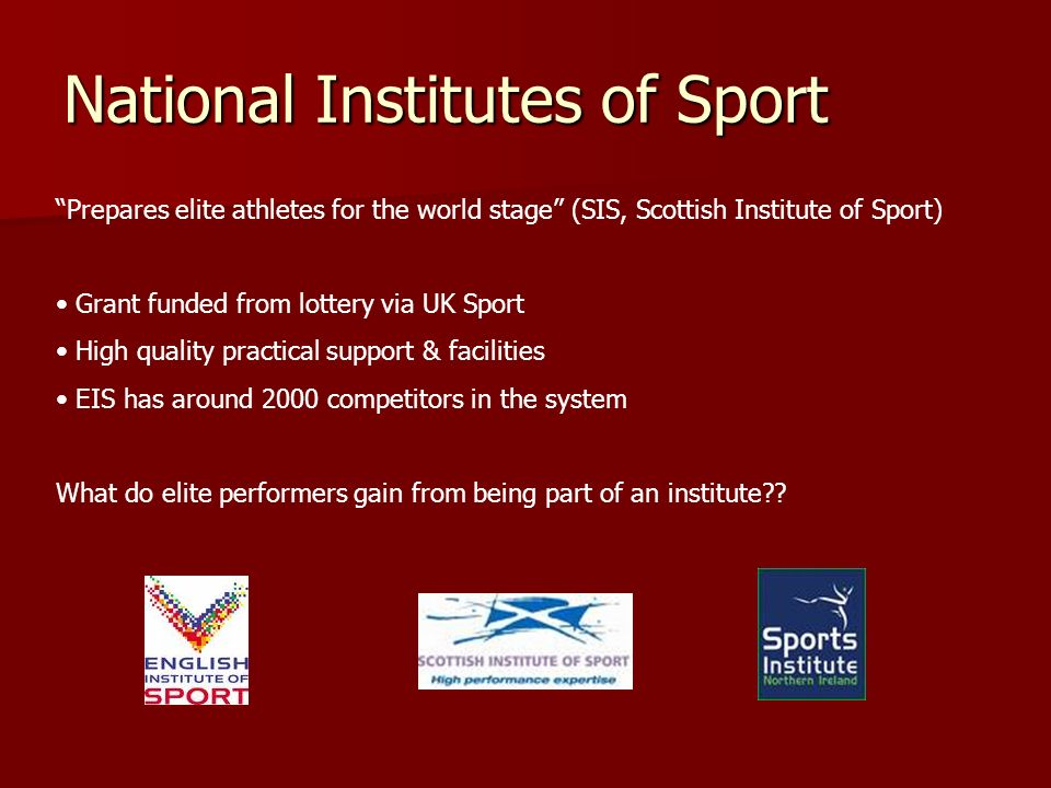 National Institutes of Sport