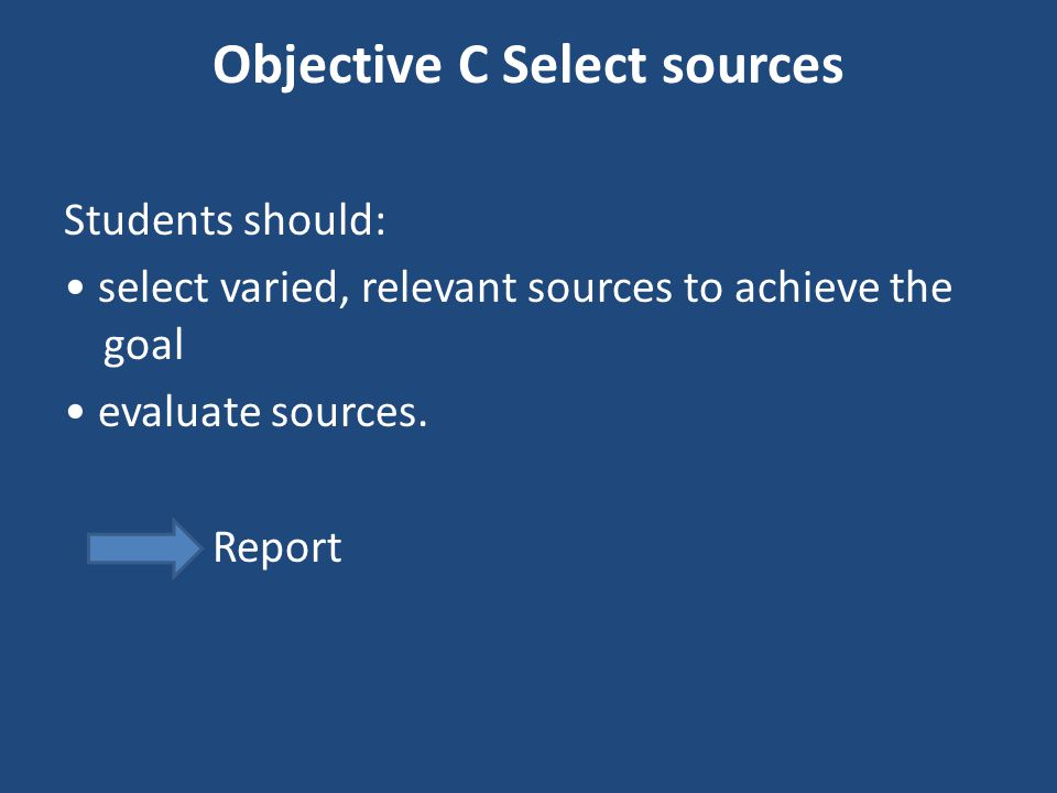 Objective C Select sources