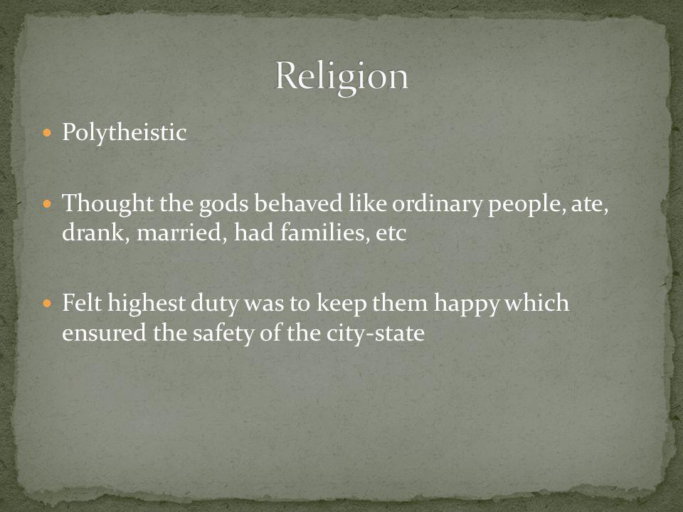 Religion Polytheistic