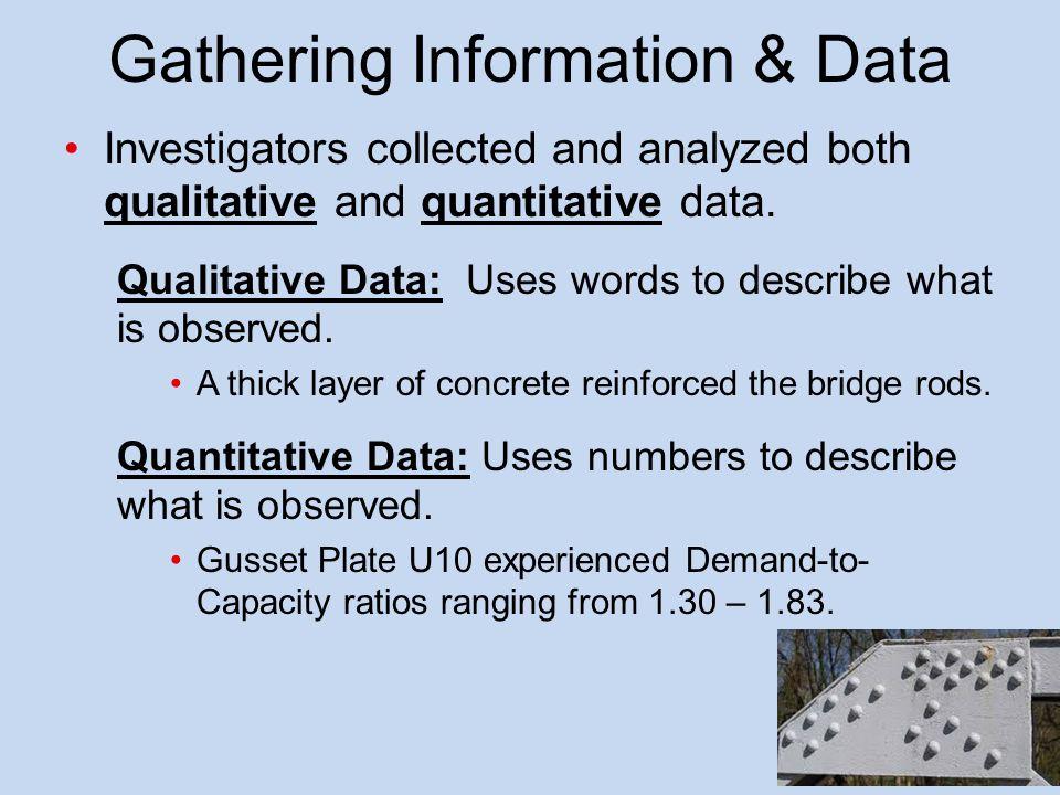 Gathering Information & Data