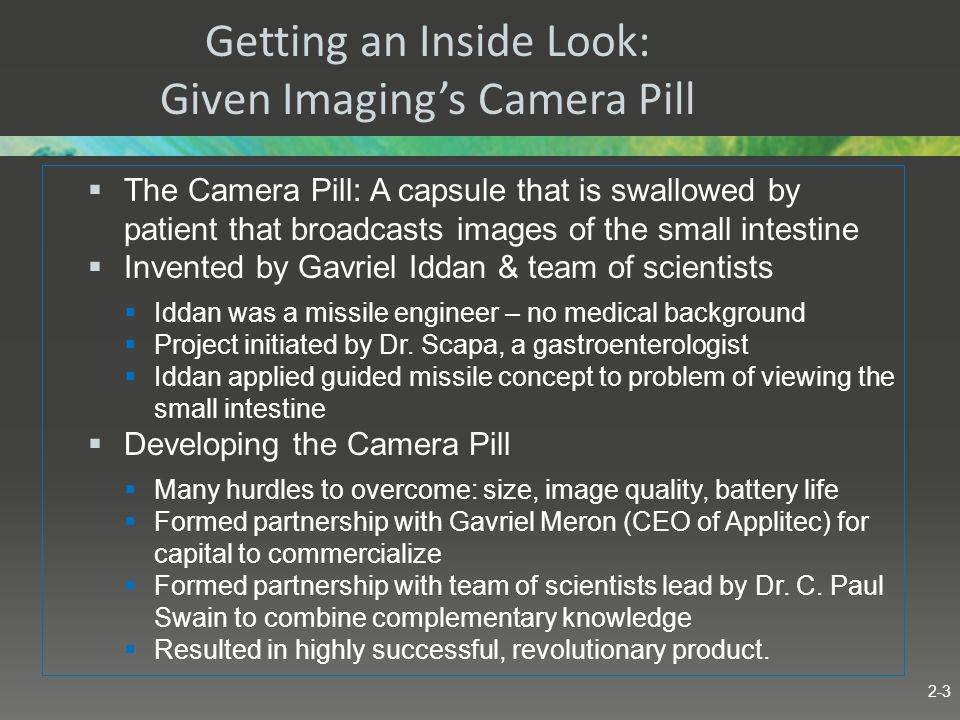 Getting an Inside Look: Given Imaging's Camera Pill