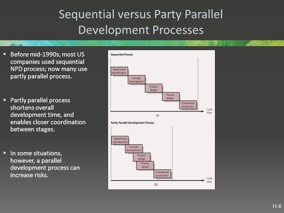 Sequential versus Party Parallel Development Processes