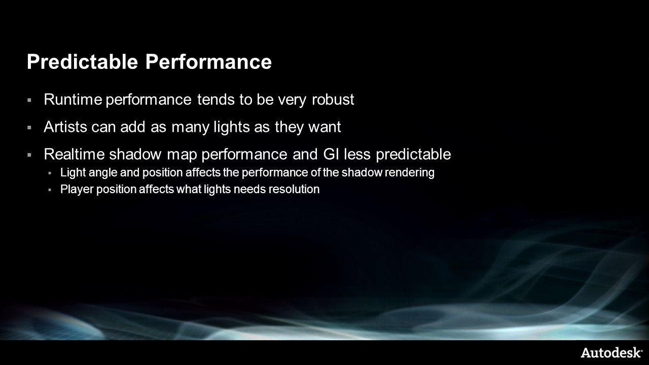 Predictable Performance