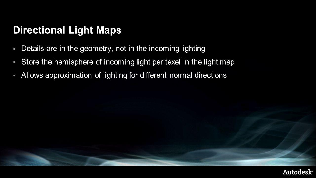 Directional Light Maps