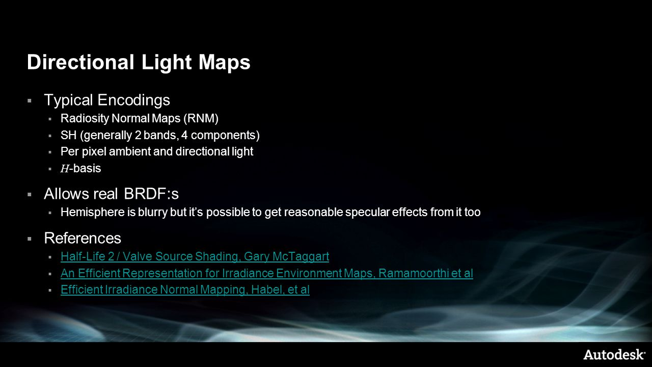 Directional Light Maps
