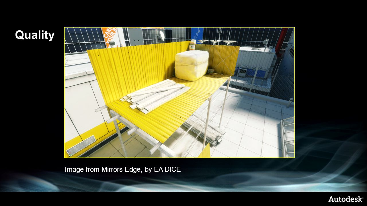 Quality Image from Mirrors Edge, by EA DICE