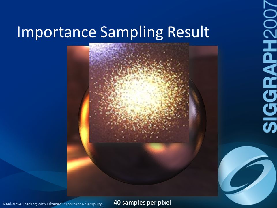 Importance Sampling Result
