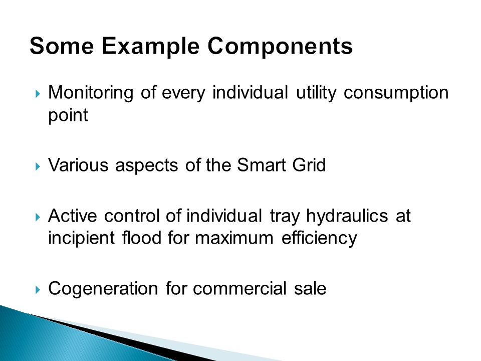 Some Example Components