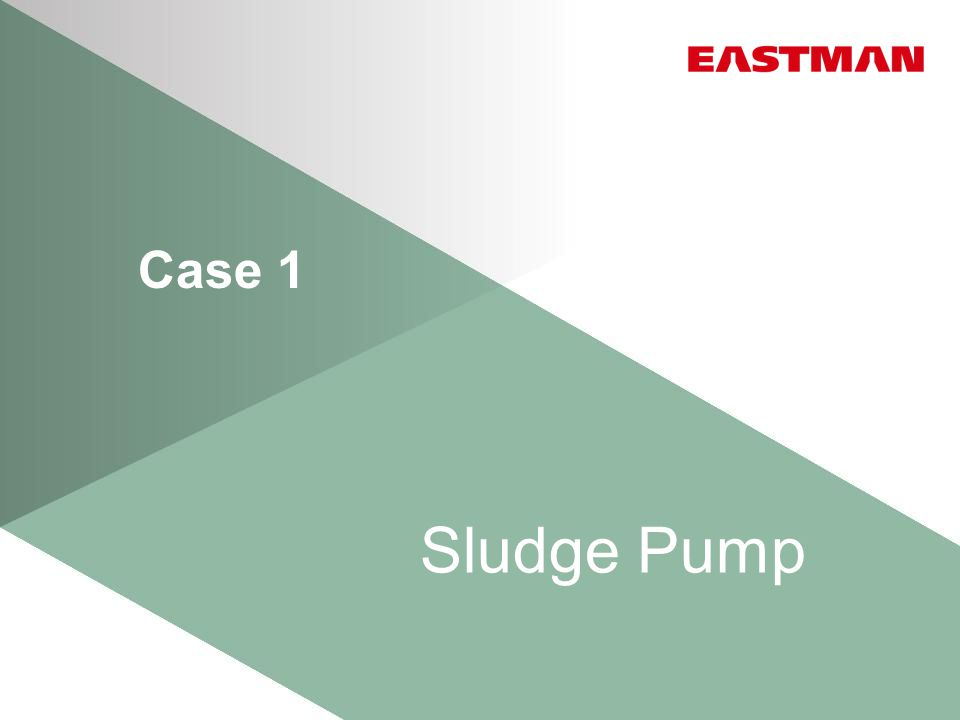 Case 1 Sludge Pump