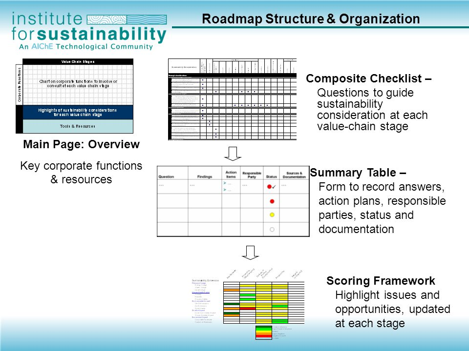 Roadmap Structure & Organization