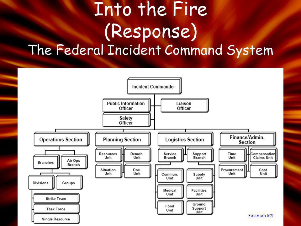 Into the Fire (Response) The Federal Incident Command System