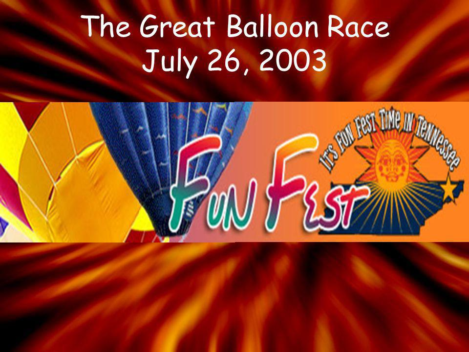 The Great Balloon Race July 26, 2003