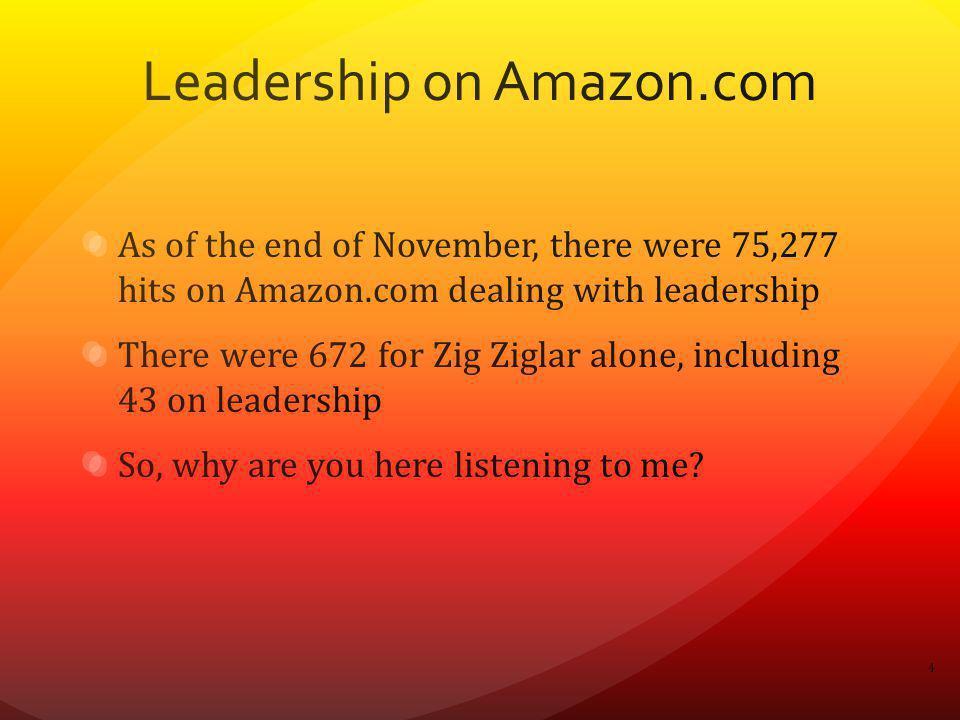 Leadership on Amazon.com