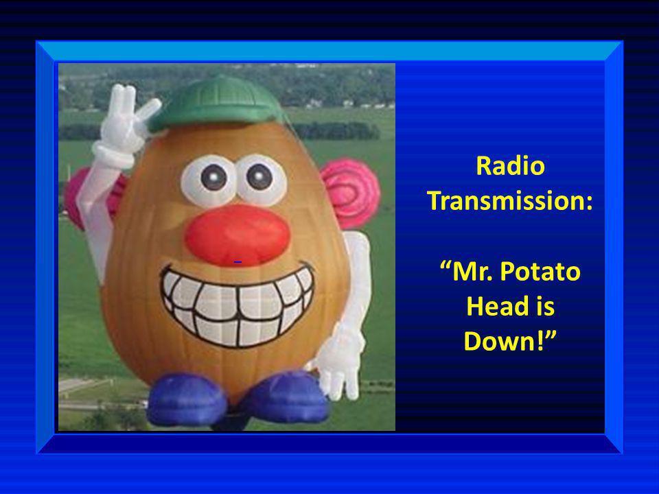Mr. Potato Head is Down!