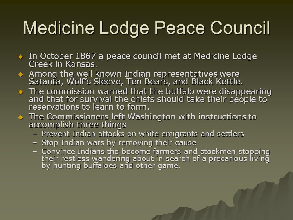 Medicine Lodge Peace Council